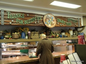 """Thanks for Buzzin' By, Enjoy Your Vittles!"""