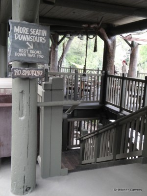 More Seating & Restrooms Downstairs