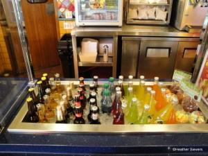 Lots of Beverage Options