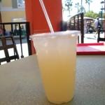 Peach Lime Agua Fresca