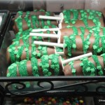 Chocolate Dipped Marshmallows from Marceline's