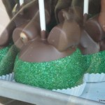 "St. Patrick's Day ""Mickey"" Caramel Apple Close Up"