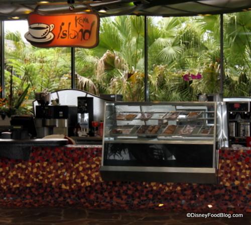 Kona Island Coffee Bar at Polynesian Resort