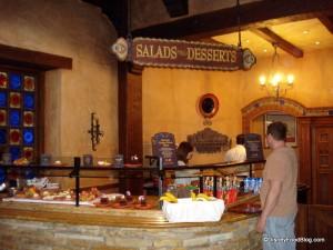 Salad and Dessert area