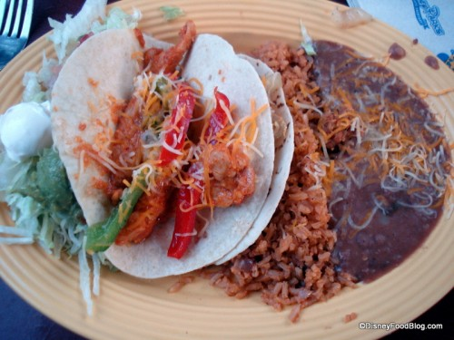 Soft Tacos Monterrey with Fajita Chicken