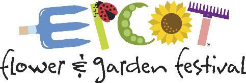 epcot flower and garden logo
