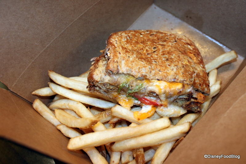 Grown-Up Grilled Cheese Sandwich at Captain Cook's