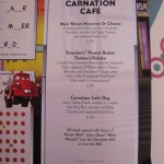Carnation Cafe Kids Menu