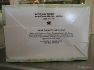 Vanille Nut Fudge Ingredients