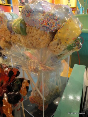 Spring Colored Rice Crispy Treat Bundles