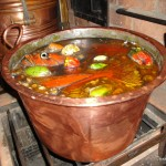 Fish Stew for the Crew Cooking Up in the Galley