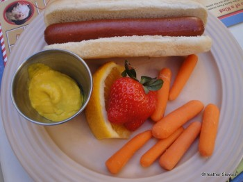 Kids' Turkey Hot Dog Meal