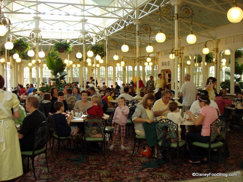 Guest Review The Crystal Palace Restaurant The Disney