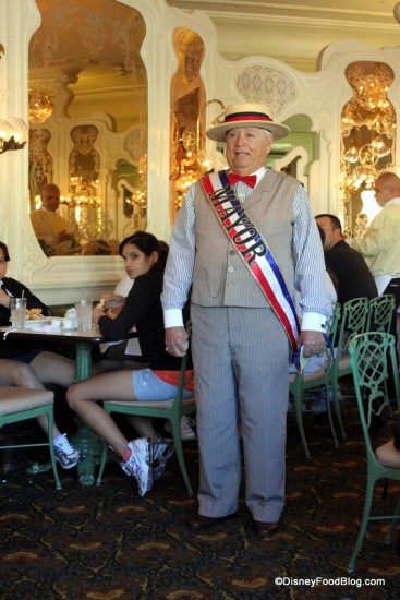 The Mayor Often Visits The Plaza Restaurant