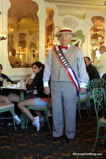 The Mayor Often Visits The Plaza Restaurant