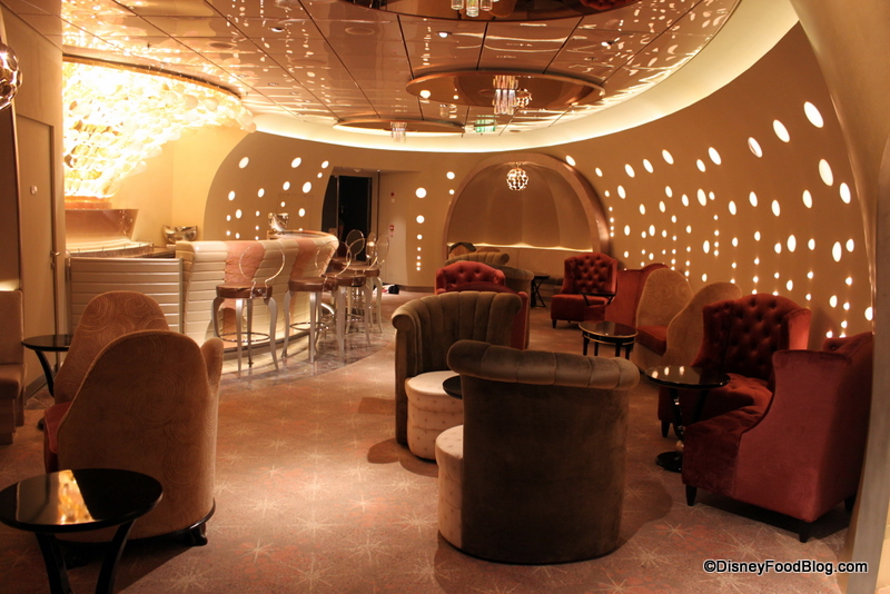 Seating and Bar at Pink