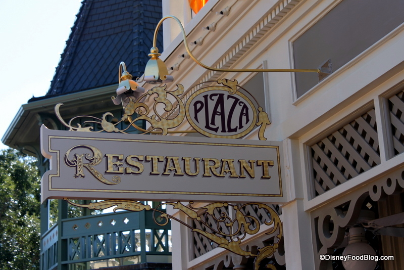 Image result for the plaza restaurant magic kingdom