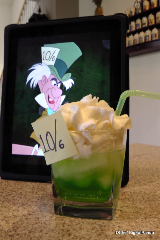 DIY Disney Magical Drinks: The Mad Hatter | the disney food blog