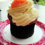 snack series candy corn cupcake at the mara the disney food blog. Black Bedroom Furniture Sets. Home Design Ideas
