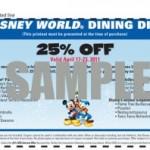 Disney Food Post Round-Up: April 3, 2011