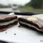 Snack Series: Giant Oreo Cookie Sandwich