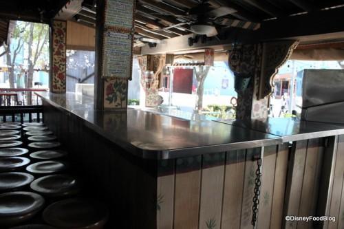 outdoor bar