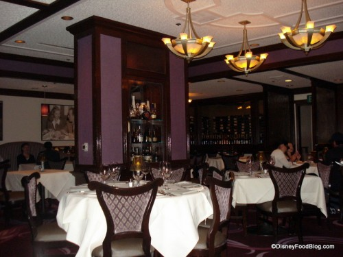 Inside the Cool and Serene Steakhouse 55