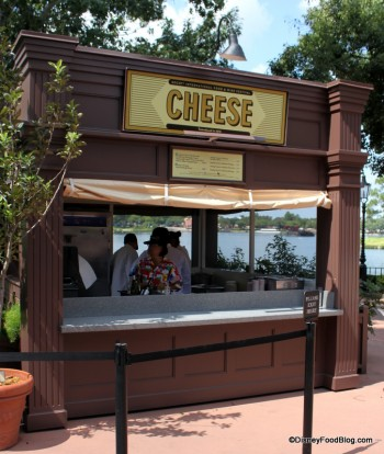 Epcot Food and Wine Festival Cheese Booth