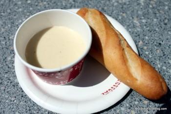 Cheese Fondue and Sourdough Bread