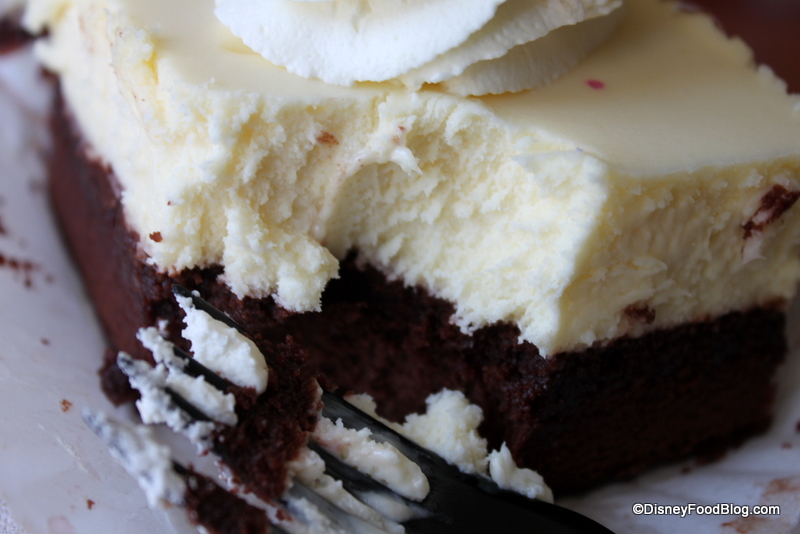 ... Series: Boardwalk Bakery's Cheesecake Brownie | the disney food blog