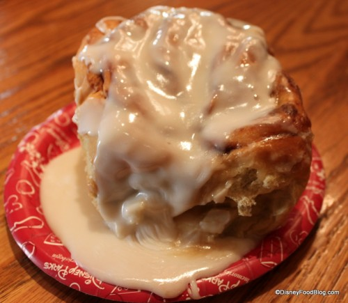 Main Street Bakery Cinnamon Roll with Extra Icing!