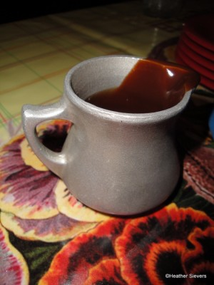 Hot Fudge Pitcher