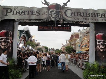 Main Street Black Carpet Entrance