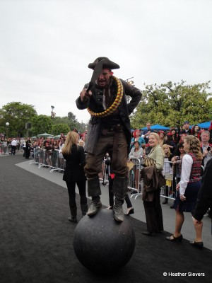 Rollin' Around on a Ball Pirate