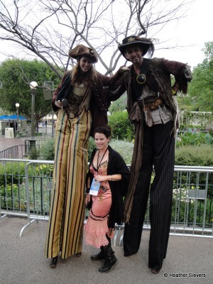 Some More TALL Pirates. Notice the Tiny Boots on the Stilts!