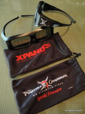 XPAND 3D Souvenir Glasses