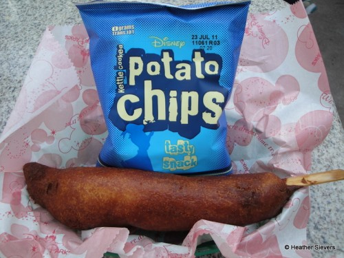 Hot Link Corn Dog Meal