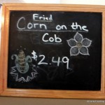 Snack Series: Fried Corn on the Cob