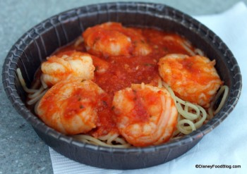 Cappellini Pasta with Spicy Shrimp