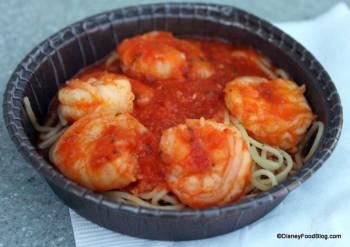 Cappellini Pasta with Spicy Shrimp