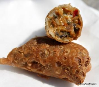 Harissa Chicken Roll Inside