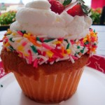 Snack Series: Strawberry Shortcake Cupcake at Boardwalk Bakery