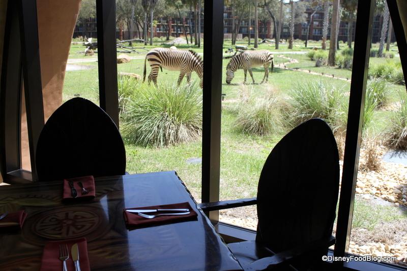 News Sanaa Serving Breakfast At Disney S Animal Kingdom Lodge