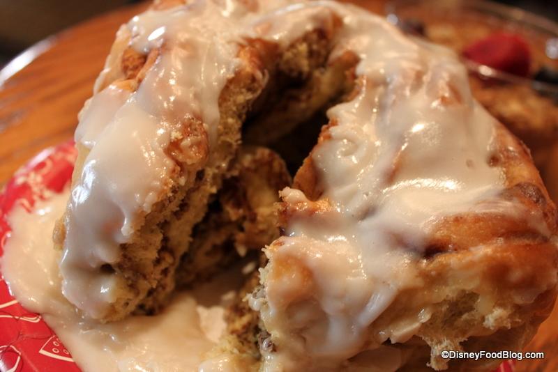 Disney Food Blog Cinnamon Roll Recipe