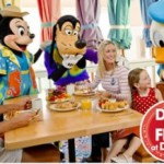 2012 Free Dining Package for UK Guests