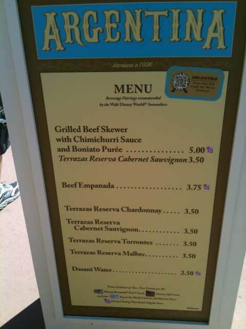 Argentina 2011 Epcot Food And Wine Festival