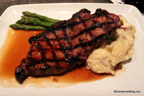 Grilled New York Strip Steak