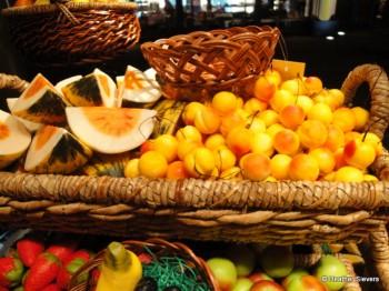 Melon & Cherries