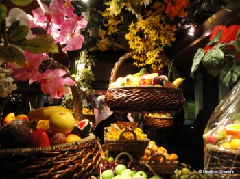 Hanging Fruit Basket Displays