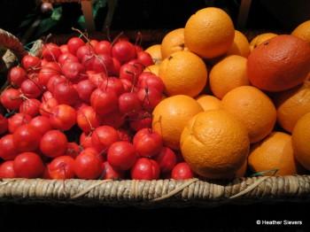 Cherries & Whole Oranges